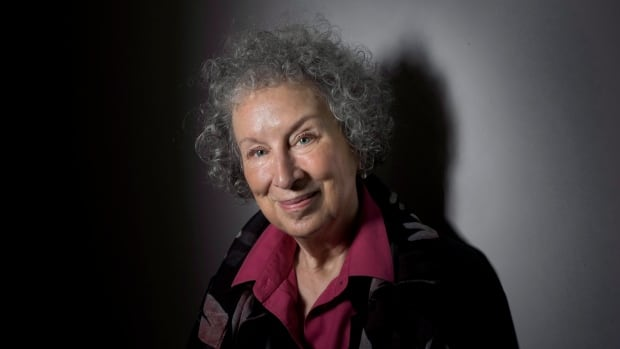 """Atwood's column poked fun at Stephen Harper's Conservative attack ads on Justin Trudeau, which use the phrase, """"Nice hair, Justin."""""""