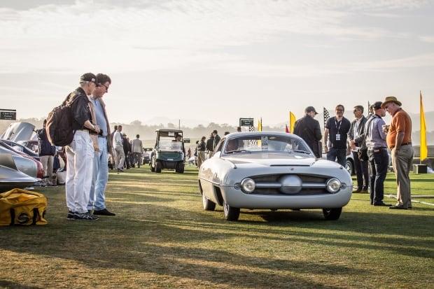 1953 Fiat Abarth 1100 Sport Ghia coupe