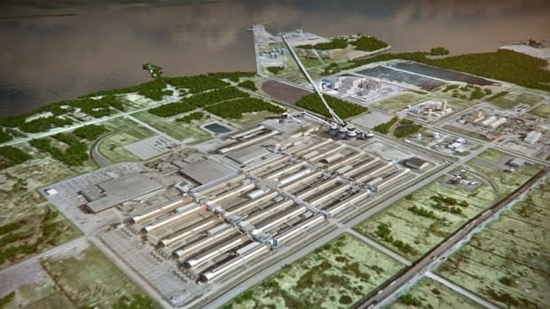 The plant is expected to create about 250 construction jobs and 30 plant jobs in Bécancour.