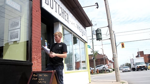 James Kayser, owner of The Butcher and The Vegan, says Barton Street is Hamilton's next trendy restaurant area. He's been talking up the area to his chef friends and trying to make it happen.