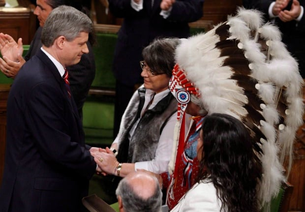 Stephen Harper apologized to victims of the residential school victims