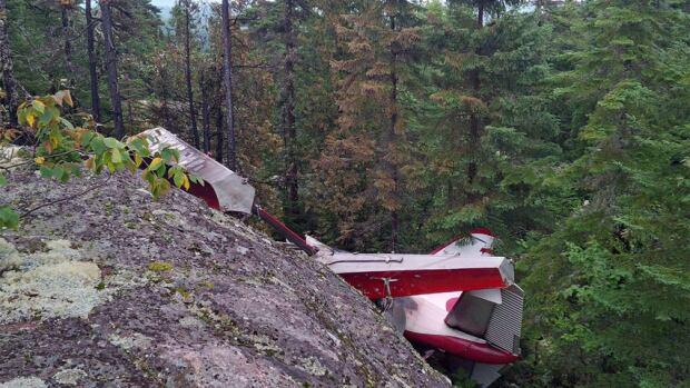 Plane crash Cote-Nord