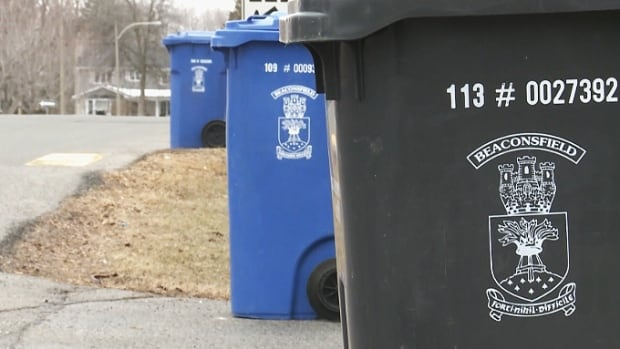 Beaconsfield's new trash policy would measure the amount of garbage residents put out for collection.