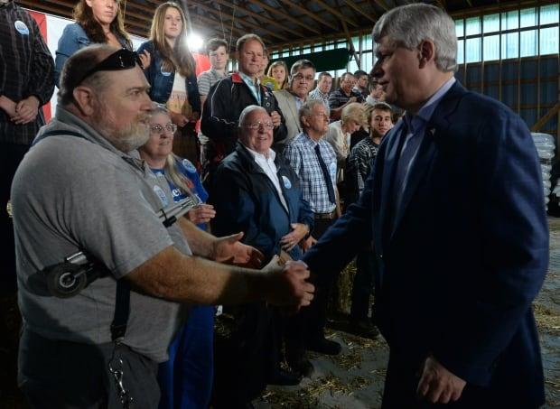 FedElxn Conservatives Leader Stephen Harper