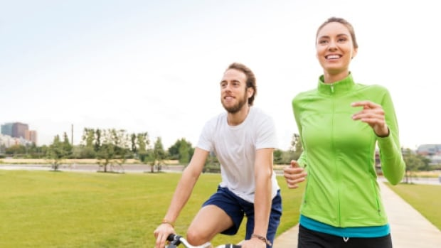 """If you make a goal to exercise only because you feel like you """"should"""" be more active, then you're doomed to fail, says life coach Rebecca Hass."""