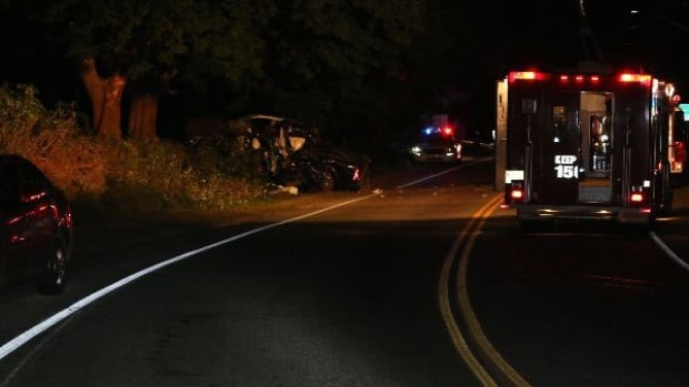 A man died in Stanley Bridge in August when his truck left the road. (RCMP)