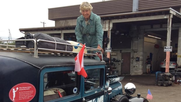Heidi Hetzer has been blogging and posting photos on Instagram as she drives her 1930 Hudson automobile, named Hudo, around the world.