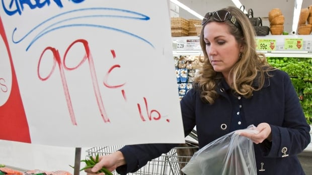 A new Fraser Institute report says the average Canadian family spends more on taxes than on food, shelter and clothing combined. (AP Photo/Nati Harnik)