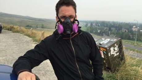 Calgary air quality, asthma sufferer