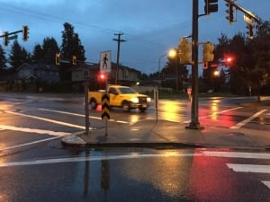 B.C. storm traffic lights out