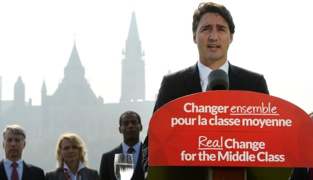 Justin Trudeau Liberal Leader federal election 2015