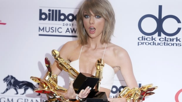 Singer Taylor Swift has earned multiple awards for her track Shake It Off and album 1989, including a raft of trophies at the 2015 Billboard Music Awards in Las Vegas.