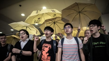 Leader of 2014 Hong Kong student protest isn't scared of consequences