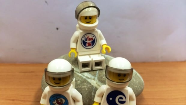 Lego partnered with the European Space Agency to launch 20 Lego astronauts to the International Space Station to be used as prizes for a contest for Danish schoolchildren.