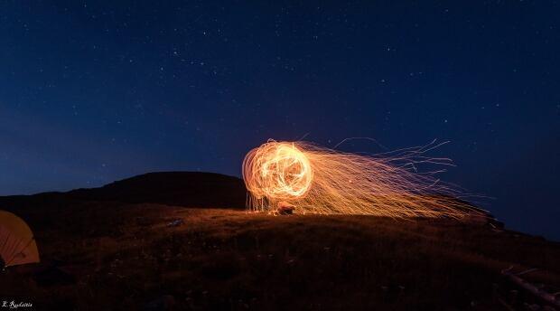 Ball of fire by Edgars Rudzitis