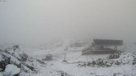 Whistler snow Sept 2
