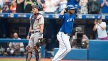 Edwin Encarnacion, Blue Jays DH, named American League player of the month