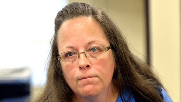 Kentucky county clerk Kim Davis has been sent to jail over her refusal to issue same-sex marriage licences.