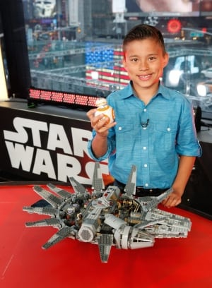 Star Wars: The Force Awakens Global Toy Unboxing Event