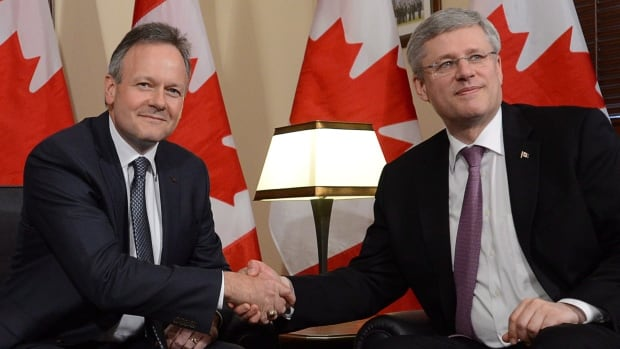 Prime Minister Stephen Harper announced last week that he had consulted with Bank of Canada governor Stephen Poloz on the economy, which seems no closer to sustained recovery than when Harper appointed him.