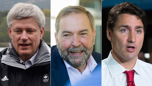 More than a month into the campaign, Stephen Harper, Tom Mulcair and Justin Trudeau still have a good shot at winning the election on Oct. 19.