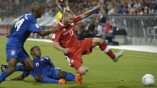 Canada blanks Belize in 1st leg of World Cup qualifier