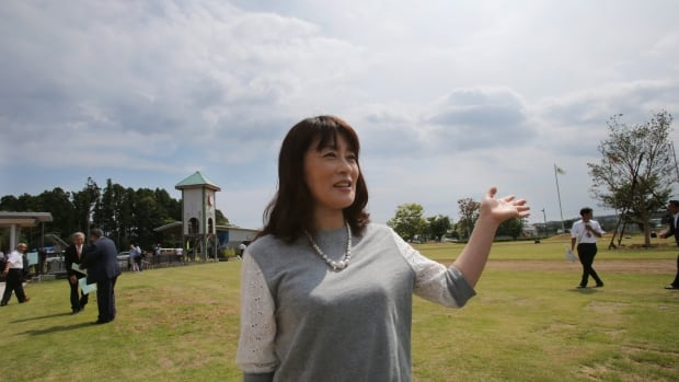 Toshiko Yokota, a former resident of Naraha, said she wants to move back when her abandoned home — damaged by rats, bugs and leakage of rainwater — is cleaned and renovated.