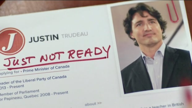 This Conservative ad, first posted in May, shows a group of interviewers attempting to assess if Justin Trudeau has all the skills for a job based on his resumé.