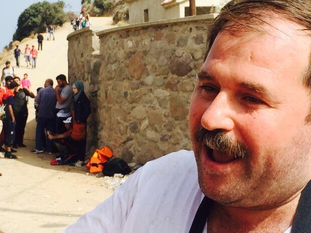 Syrian refugee Montaser al-Sayaf
