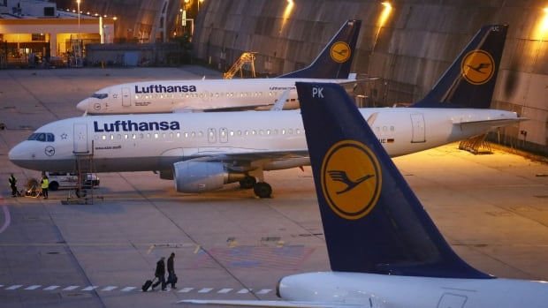 Lufthansa cancels about 1 000 flights due to pilot strike for Lufthansa direct flights to germany