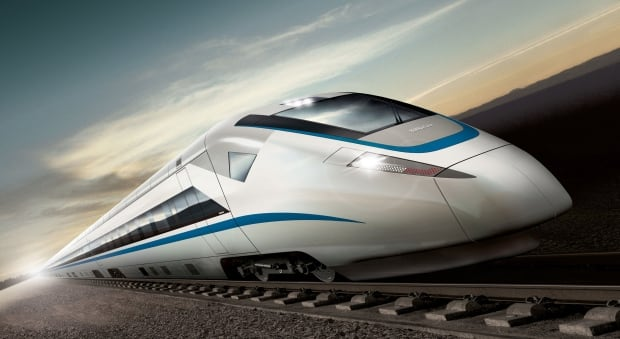 Bombardier high-speed train