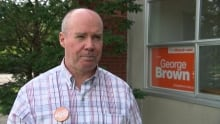George Brown NDP Ottawa federal election candidate 2015