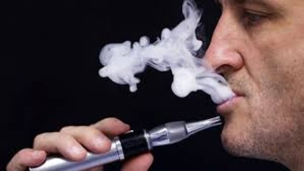 Under the proposed bylaw, customers and staff will be allowed to puff on vaporizers like this one in the shops where they're sold.