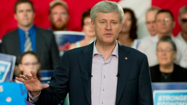 Conservative Leader Stephen Harper suggested Thursday that he may soon announce more help for Syrian refugees, amid an outpouring of support across Canada.