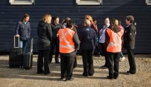 Iqaluit airport staff evacuated