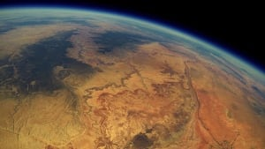 The Grand Canyon from found weather balloon