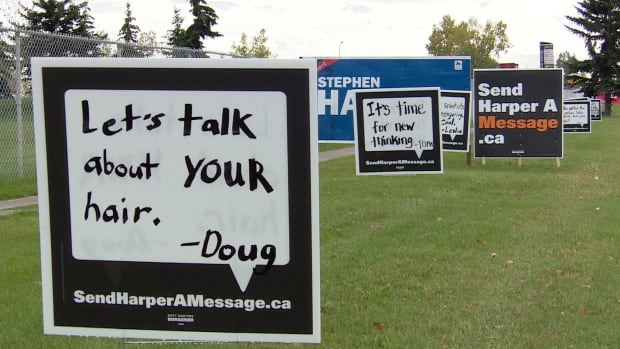The NDP campaign in Calgary Heritage is getting creative in its attempt to unseat Stephen Harper.