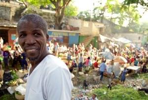 Harry Nicholas in Port au Prince