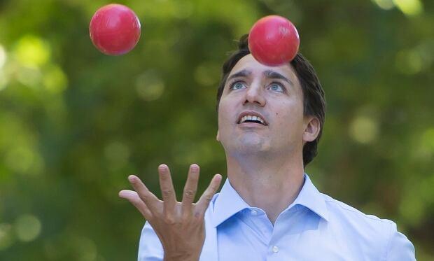 Justin Trudeau Liberal leader federal election 2015