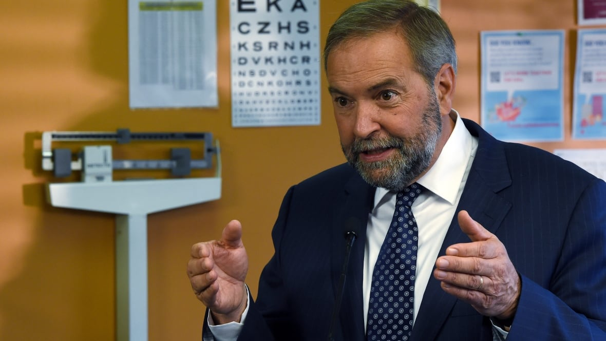 news politics canada election mulcair