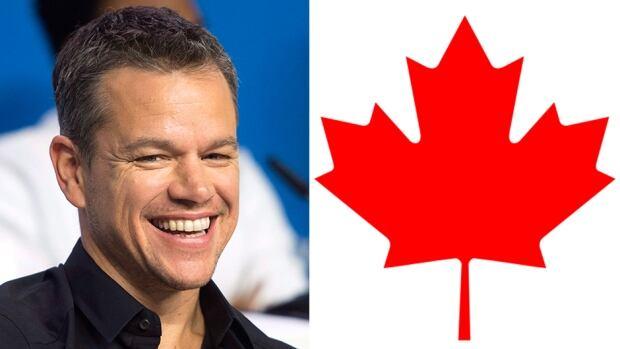Matt Damon Canada