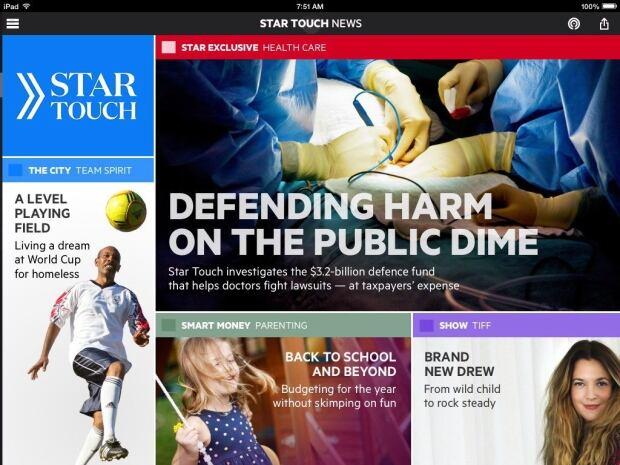 Toronto Star Tablet App