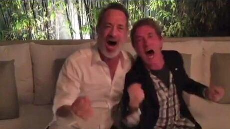 Tom Hanks Martin Short Hamilton Bulldogs