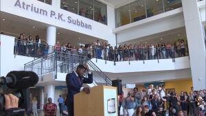 PK Subban Hospital donation Montreal Children's