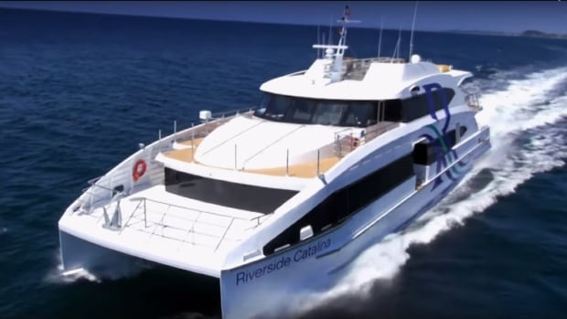 Riverside Marine plans to operate a luxury passenger ferry between downtown Victoria and Vancouver Harbour as early as 2016.