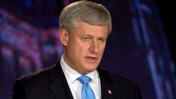During Thursday night's leaders' debate, Conservative Leader Stephen Harper stressed his government's proposed tax cuts for small business as an essential part of its plan to help the economy rebound.