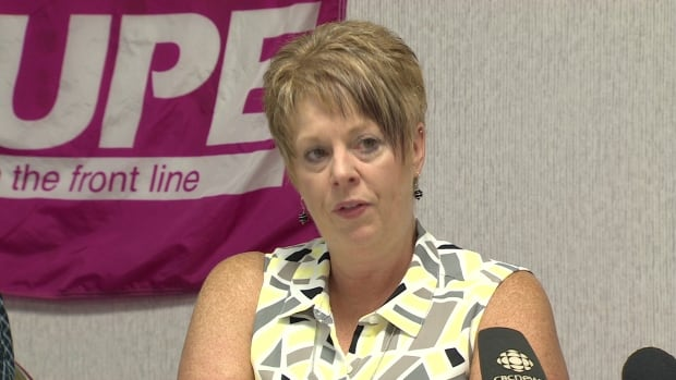 "Norma Robinson, the president of CUPE Local 1252, predicts poorer quality food and ""deaths from hospital-based infections"" if one of three companies are chosen in the privatization of hospital services."