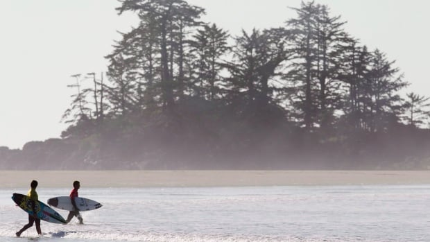 Surfing is a major reason people make the trip to Tofino. The district council is considering a fee on larger surfing events hosted by the district.