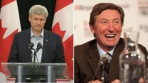 Gretzky to endorse Harper