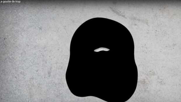 A new Bloc Québécois ad featuring a drop of oil morphing into a niqab is drawing criticism online.